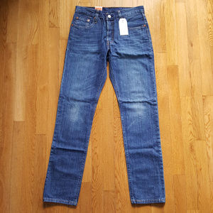 NEW Levi's 501 Straight Leg Button Fly Jeans 27x32